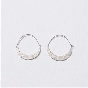 LOFT Jewelry - Loft crescent moon hoop earring